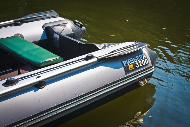 лодки пвх ривьера 2900 слань+киль толщина пвх