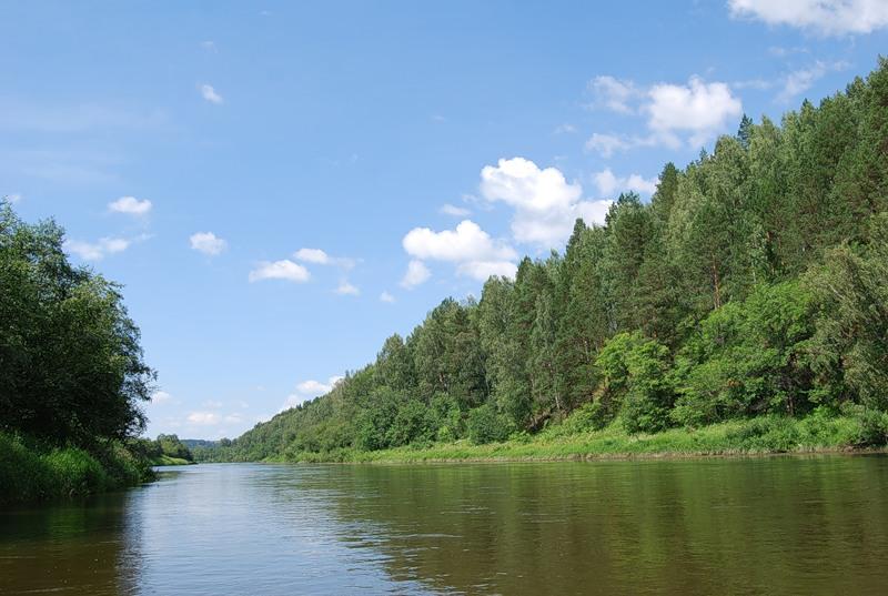 фото уфа река