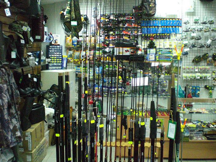 Оптовая и розничная продажа рыболовных снастей